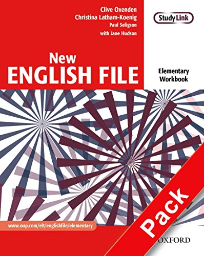 New English File: NWorkbook with key and MultiROM Pack: Six-level general English course for adults: