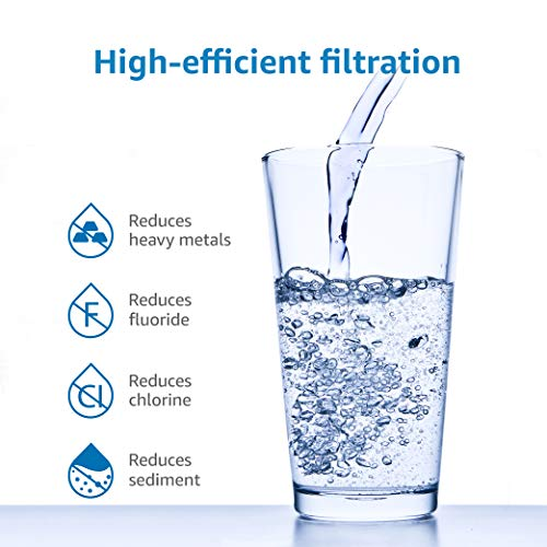Product Image 3: AQUACREST RV Inline Water Filter, NSF Certified, Reduces Chlorine, Bad Taste, Odor for RV and Marines, Drinking & Washing Filter, Pack of 4
