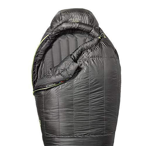 Eddie Bauer Unisex-Adult Airbender 20 Sleeping Bag, Dk Smoke Regular ONE Size