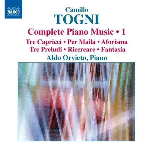 Opere Per Pianoforte (Integrale), Vol.1