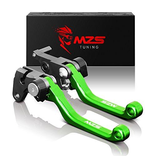 MZS ブレーキ クラッチ ショート レバー 用 カワサキ Ninja250 13-17年/ Ninja250R 08-12年/ Ninja250SL 15...