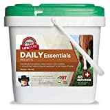Formula 707 Daily Essentials Equine Supplement, 6lb Bucket – Complete Vitamins and Minerals for Superior Health and Condition in Horses