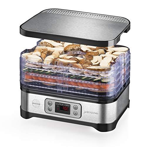 MACOM Just Kitchen 871 Super Dry, essiccatore per alimenti, Premium food dehydrator