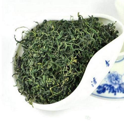 JQ 500g Trocken Sieben Blätter Jiaogulan (Natürliche Süße)Ohne Stängel Unsterblichkeitskraut Gynostemma Pentaphyllum Frische Ernte