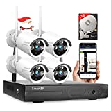 [Expandable 8CH] Wireless Security Camera System with 1TB Hard Drive,2.0MP CCTV NVR WiFi Surveillance System,Night Vision,Weatherproof, Motion Detection, Remote Monitoring for Home Indoor Outdoor