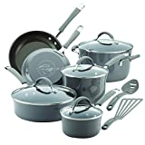 Rachael Ray 16802 Cucina Nonstick Cookware Pots and Pans Set, 12...