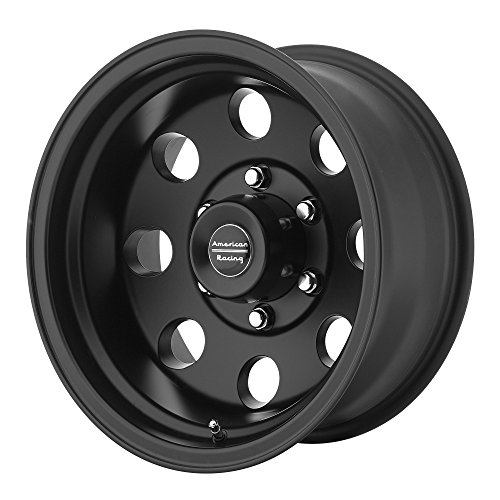 American Racing Custom Wheels AR172 Baja Satin Black Wheel (16x8'/8x165.1mm, 0mm offset)