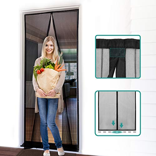 51pJk+rgvzL - 7 Best Magnetic Screen Doors for Keeping Bugs Out Of Your Home