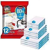 Boxlegend Sacs de Rangement Sous Vide Lot de 12 Type épais 4*100x80 +4*80x60 +...