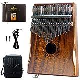 MOOZICA EQ Kalimba, Instrument kalimba électro-acoustique en bois de koa...
