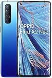 OPPO Find X2 NEO 5G – Pantalla de 6.5' (AMOLED, 12GB/256GB, Snapdragon 765G, 4.000 mAh, cámara trasera 48MP+13MP+8MP+2MP, cámara frontal 32MP, Android 10) Azul [Versión ES/PT]