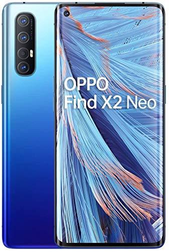 OPPO Find X2 Neo - Smartphone 256GB, 12GB RAM, Single SIM, Starry Blue [Spanish Version]