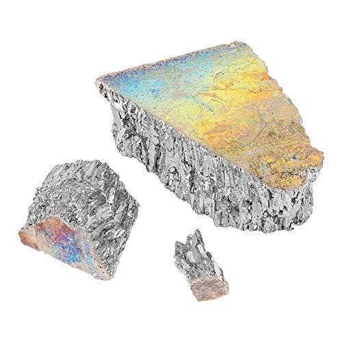 Lingotto di metallo Bismuto 99,99% di puro 1000 g per la produzione di cristalli/esche da pesca