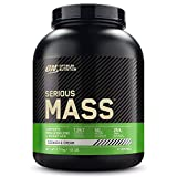 Optimum Nutrition Serious Mass, Mass Gainer avec Whey, Proteines Musculation...