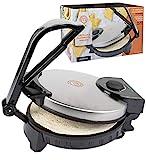 MasterChef Electric Tortilla Maker- Homemade Flatbread, Tortillas- Heavy Duty, Non-stick Cooker Easier than Tortilla Press