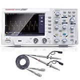 Hanmatek 110mhz Bandwidth DOS1102 Digital oscilloscope with 2 Channels and Screen 7 inch / 18 cm, TFT-LCD Display, Portable Professional Oscilloscope Kit with 1GS/s Sampling Rate