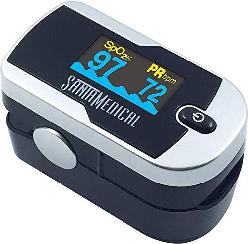 Santamedical Generation 2 Fingertip Pulse Oximeter Oximetry...