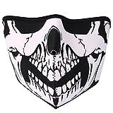 JewelryWe Accessoires Masque Protection Demi Cagoule Ghost Tete de Mort Skull...