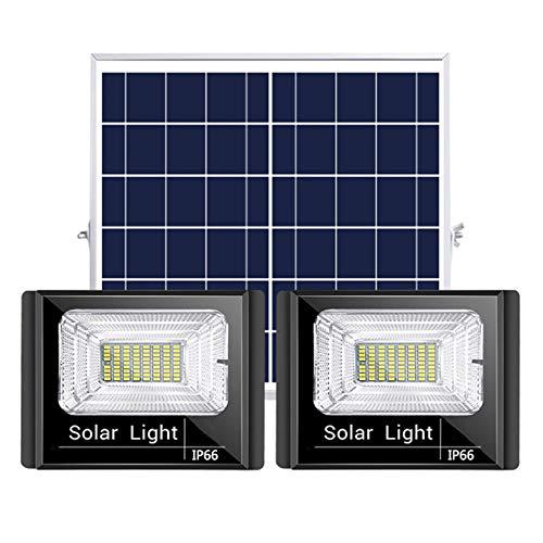 ESTEAR Luci A LED per Esterni Luci di Inondazione Solari Luci di Inondazione Ad Energia Solare Lampade Impermeabili IP67 per Capannone, Fienile, Segnaletica, Illuminazione per Cartelloni Pubblicitari