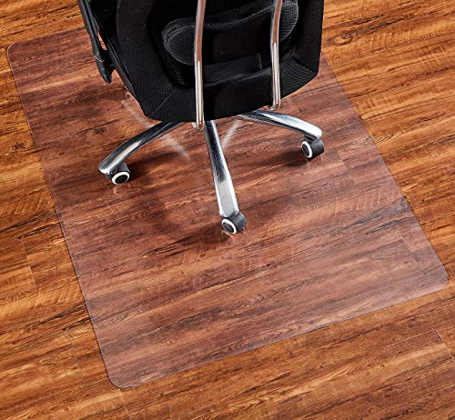Office Chair Mat, 48'36'-2mm Thick, Chair Mat for Hardwood Floor, Desk Chair Mat, Floor Protectors for Office Chairs, Office Mat, Office Mats for Rolling Chairs, Only for Hardwood Floor