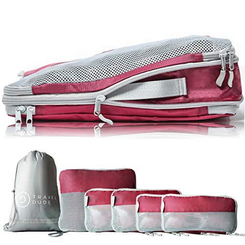 TRAVEL DUDE Organisateurs de Voyage | Bagage Sac Compression | Rangement...