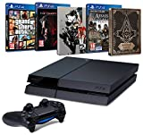 Contenu : Console PlayStation 4 + Metal Gear Solid V : The Phantom Pain + Steelbook exclusif Amazon Assassin's Creed : Syndicate + Steelbook exclusif Amazon GTA V