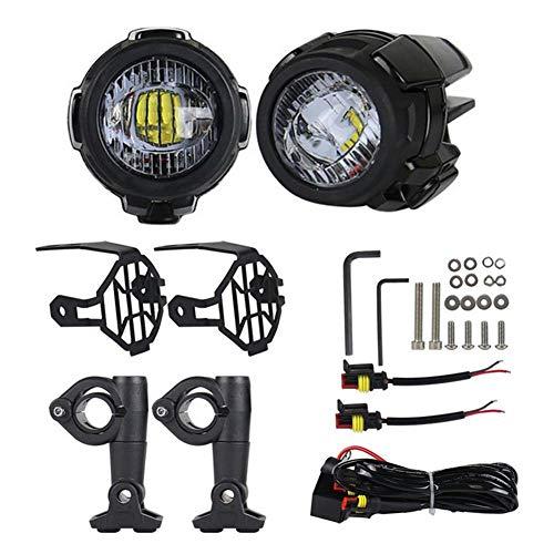 rosemaryrose Motorrad Nebelscheinwerfer LED Zusatzscheinwerfer Set R1200GS-F800GS