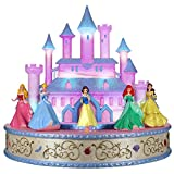 Hallmark Keepsake Christmas Ornament 2019 Year Dated Disney Live Your Story Interactive Castle Musical Decoration with Light (Plays Signature Songs), Princess Tabletop