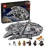 LEGO75257StarWarsHalcónMilenarioSetdeConstruccióndeNaveEspacialconMiniFigurasdeChewbacca,Lando,C-3PO,R2-D2