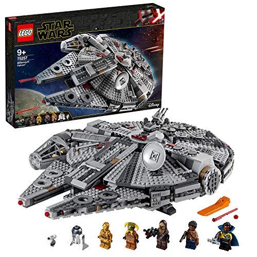 LEGO®-Star WarsTM Faucon MilleniumTM Jouet Enfant à Partir de 9 ans, 1351 Pièces à Construire 75257