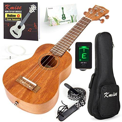 Kmise Soprano Ukulele Professional Mahogany Instrument 21...