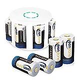 Batteries Arlo, Keenstone Batteries Rechargeable Lithium 3,7V 700mAh 8PCS avec...