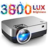 VIVIMAGE C480 Mini Projector, 3800 Lux 1080P Supported and 170'' Display Portable Video Projector...