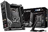 MSI MEG Z490I UNIFY Scheda Madre Gaming (Mini-ITX, 10 Gen Intel Core, LGA 1200 Socket, DDR4, Dual M.2 Slots, Thunderbolt 3 Type-C, Wi-Fi 6)