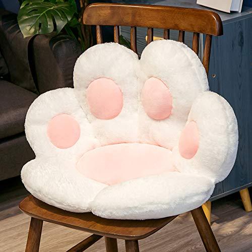 Dreafly Simpatico Cuscino per Sedile da Ufficio a Forma di Zampa di Gatto Divano Pigro Cuscino da Ufficio Caldo Accogliente per Ufficio a casa