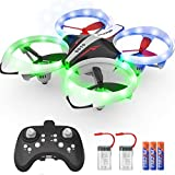 NXONE Drone for Kids and Beginners, Mini Drone with LED Lights, Altitude Hold, Headless Mode, 3D...