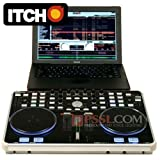 Vestax VCI-300 Dedicated USB MIDI DJ Controller for Serato ITCH (Black)