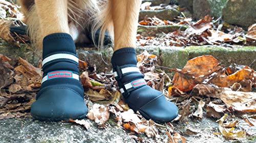 Bark Brite All Weather Neoprene Paw Protector Dog...