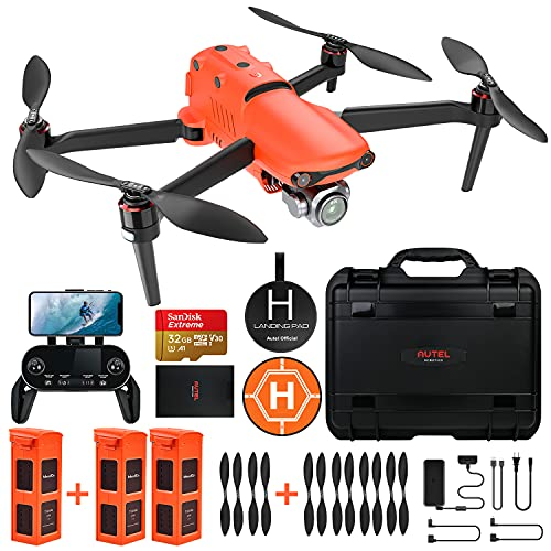 Autel Robotics EVO 2 Pro Drone con 6K HDR Video per Professionisti, con Bundle Robusto e 429 Kit di Accessori del Valore (Manuale Utente Solo in Inglese)