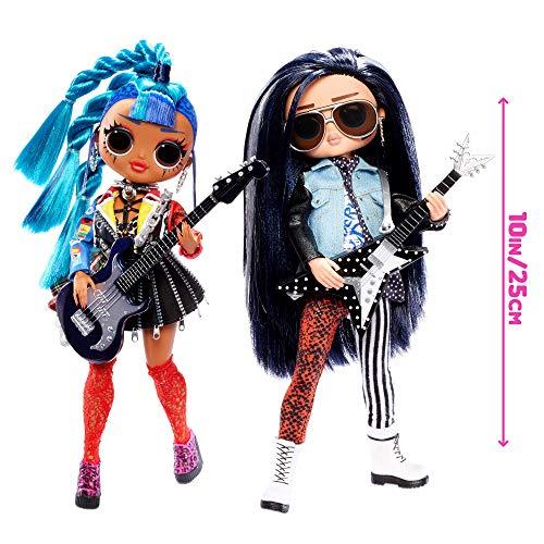 Image 2 - LOL Surprise OMG Remix Poupée Mannequin - A Collectionner - Vêtements de Mode & Accessoires - Rocker Boi & Punk Grrl - 2 Paquets