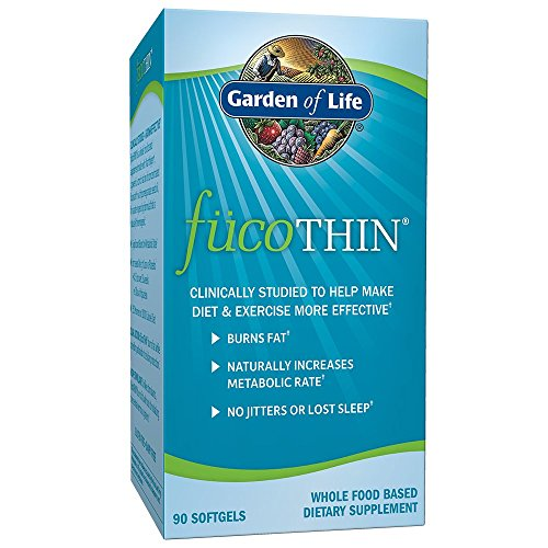 Garden of Life - FucoTHIN concentrado de fucoxantina - 90 cápsulas