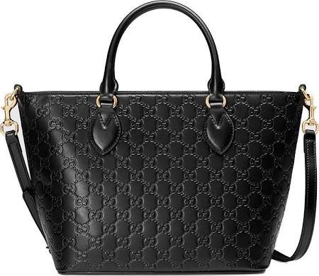 51pq5TmrtPL. SL500 Gucci Guccisima Black Calf Leather Top Handle w Crossbody Detachable Strap Handbag Bag leather New New with Tags. Made in Italy. Style #432124 Black Guccisima Signature Leather Calf Black Large Top Handle Satchel Handbag Bag Gold hardware. Dustbag. Controllo Card. Founded in Florence in 1921, Gucci is one of the world's leading luxury fashion brands, with a renowned reputation for creativity, innovation and Italian craftsmanship. Gucci is part of the Kering Group, a world leader in apparel and accessories that owns a portfolio of powerful luxury and sport and lifestyle brands. New with tags. Dustbag. Authentic. Controllo Card.