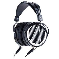 Audeze LCD-4 Over Ear | Open Back Headphone | Ebony Wood Ring | Leather Ear Pads