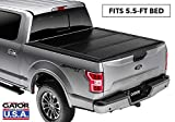 Gator EFX Hard Tri-Fold Truck Bed Tonneau Cover | GC24019 | Fits 2015-2020 Ford F-150 5' 5' Bed | MADE IN THE USA