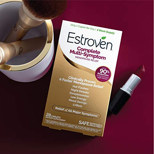 Estroven Complete Menopause Relief | All-In-One Menopause Relief* | Safe and Effective | Reduce Multiple Menopause Symptoms*1 | Reduces Hot Flashes and Night Sweats* | One Per Day | 28 Count 11