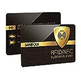 2PCS Cartes Anti RFID/NFC Protection de...