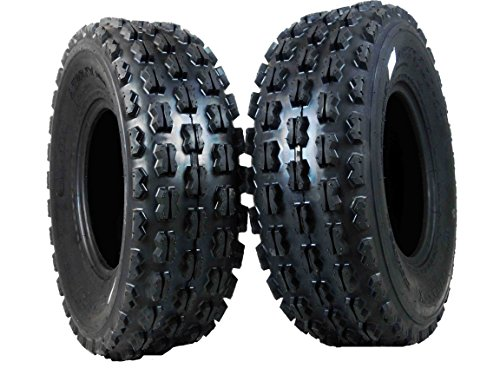 New MASSFX 2 Front Tire set 4 ply (2) 22X7-10 Sport ATV Tires 22x7x10 22x7/10