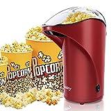 Vsadey Machine à Pop-corn, Appareil à Popcorn Eléctrique à Air Chaud Rapide, Popcorn en Bonne...