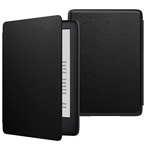 MoKo Case Fits All-New Kindle (10th Generation - 2019 Release Only), Thinnest Protective Shell Cover with Auto Wake/Sleep, Will Not Fit Kindle Paperwhite 10th Generation 2018 - Black