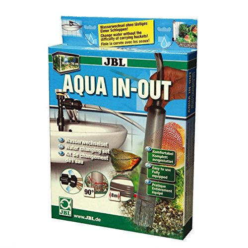 JBL Aqua In Out 61430 Wasserwechselset für Aquarien zum Anschluss an den Wasserhahn